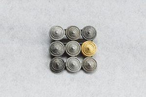Brosche, Silber, Gold 750, 2007