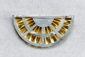 Brosche, Gold 900, 1985