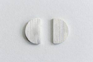 Ohrschmuck, Silber, Weiß gesiedet, 2008
