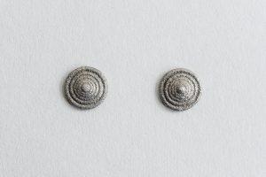 Ohrschmuck, Silber oxidiert, 2006