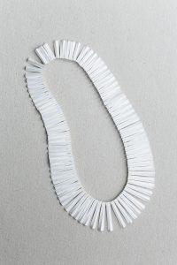 Halsschmuck, Silber, Weiß gesiedet, 1986