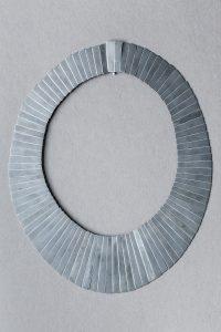Halsschmuck, Silber, Kupfer oxidiert, 1987