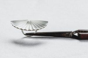 Ring, Silber, Weiß gesiedet, 1985