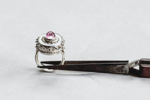 Ring, Silber, Perlmutt, 2009
