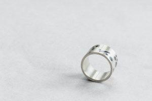 Ring, Silber, Niello, 1999